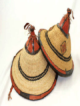 Fulani Straw Hat - Medium