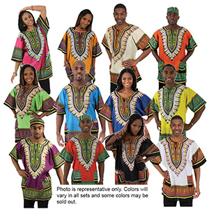 Traditional Print Dashiki