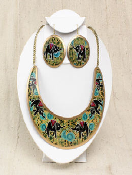Empress Necklace & Earring Set