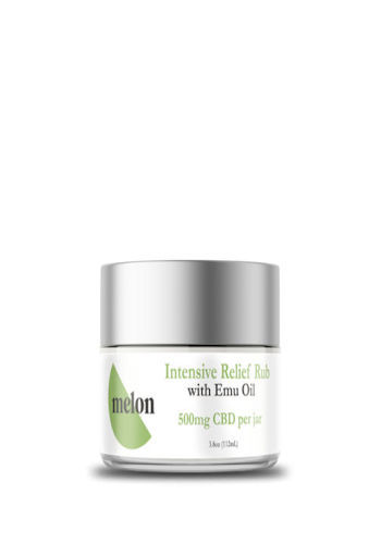 CBD Intensive Relief Rub with Emu Oil