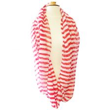 Infinity Stripped Scarf