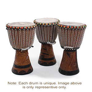 D'Jembe Drum : Medium 16-18""