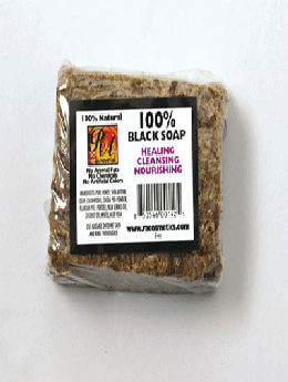100% Natural Black Soap- (a set of 4)