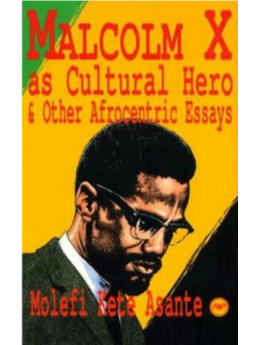 Malcolm X as Cultural Hero: