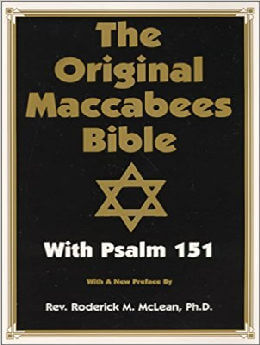 Original Maccabees Bible-OE