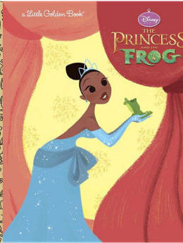The Princess & the Frog Little Golden Book